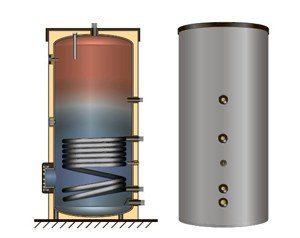 Баки ГВС со встроеным тепловым насосом