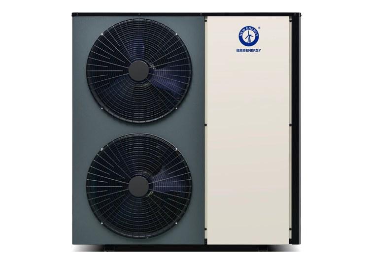инверторный тепловой насос (2 вентилятора)