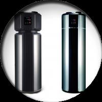 Баки для водоснабжения (ГВС) со встроенным тепловым насосом воздух-вода
