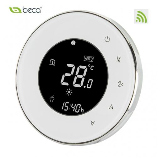Термостат для фанкойла с WiFi управлением модель BAC-6000ALW