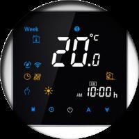Термостаты (контроллеры теплых полов)