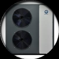 Тепловые насосы Воздух-Вода инверторного типа до -25