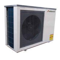 инверторный тепловой насос воздух-вода отопл./охл.+гор.вода 11 кВт модель FAD-03 (моноблок)