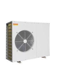 Инверторный тепловой насос воздух-вода отопл./охл.+гор.вода 16 кВт модель FMP-030DC/230V